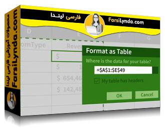 لیندا _ آموزش ساخت یک داشبورد در اکسل (با زیرنویس فارسی AI)